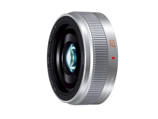 【新品/取寄品】デジタル一眼カメラ用交換レンズ H-H020A-S シルバー
