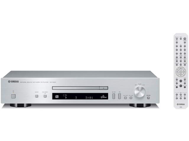 【新品/取寄品】ネットワークCDプレーヤー CD-N301 シルバー