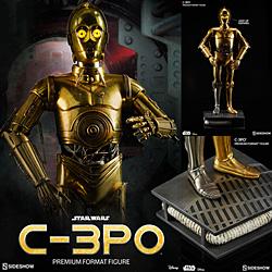 【新品/在庫あり】[サイドショウ] スター・ウォーズ プレミアム・フォーマット・フィギュア C-3PO
