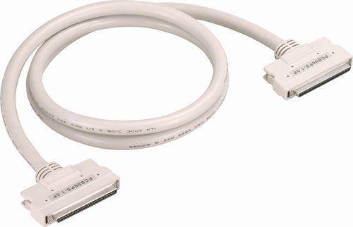 【新品/取寄品/代引不可】96ピン・ハーフピッチコネクタ用 両端コネクタ付シールドケーブル(モールドタイプ、5m) PCB96PS-5P