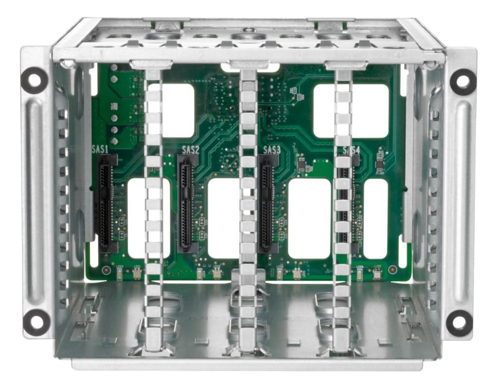 【新品/取寄品/代引不可】DL385 Gen10 Plus LFFシャーシ用2SFF(2.5型)U.3 ドライブケージ P14507-B21