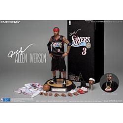 【新品/在庫あり】[エンターベイ] 1/6 リアルマスターピース コレクティブル フィギュア NBAコレクション アレン・アイバーソン アップグレードエディション RM-1060