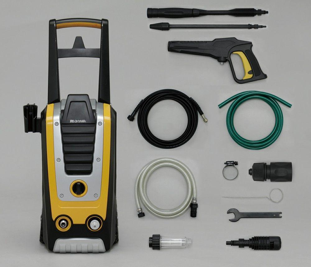 【新品/取寄品/代引不可】高圧洗浄機(60Hz 西日本専用) イエロー FIN-901W