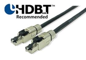 【新品/取寄品/代引不可】HDBaseTアライアンス推奨ツイストペアケーブル 10m HDBT/010M