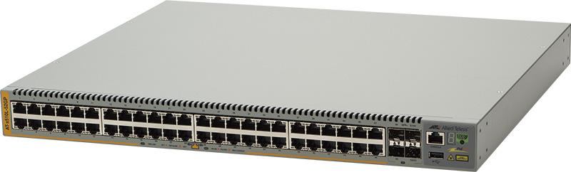 【新品/取寄品/代引不可】AT-x510L-52GP-Z1 [10/100/1000BASE-Tx48(PoE-OUT)、SFP+スロットx4(デリバリースタンダード保守1年付)] 2317RZ1