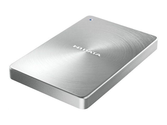 【新品/取寄品/代引不可】USB 3.1 Gen1 Type-C対応 ポータブルハードディスク「カクうす」2.0TB シルバー HDPX-UTC2S