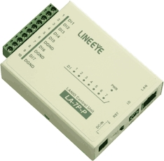 【新品/取寄品/代引不可】LAN接続型デジタルIOユニット ドライ接点7入力 LA-7P-P(G)