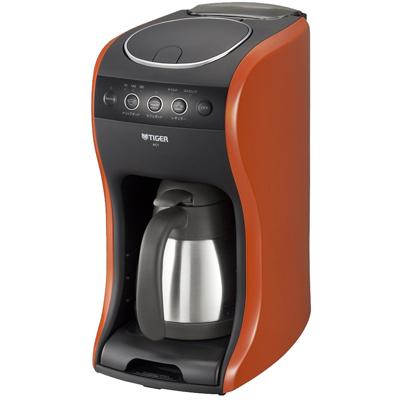 【新品/取寄品】タイガー コーヒーメーカー カフェバリエ ACT-B040-DV バーミリオン [スチームドリップ・エコポッド・カフェポッドの3way]