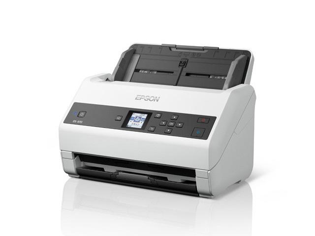 【新品/取寄品/代引不可】A4シートフィードスキャナー DS-970(600dpix600dpi/両面同時読み取り) DS-970