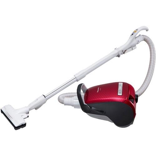【新品/在庫あり】パナソニック 紙パック式掃除機 クラシックレッド MC-PA36G-R 1台
