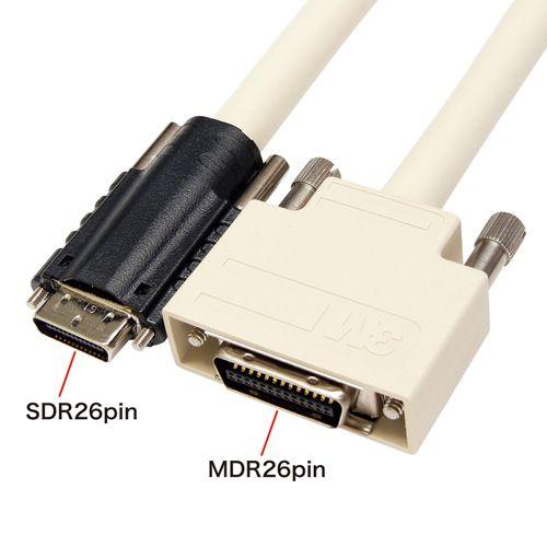 【新品/取寄品/代引不可】カメラリンクケーブル 標準 SDR/MDR 1m KB-CAMSM-01
