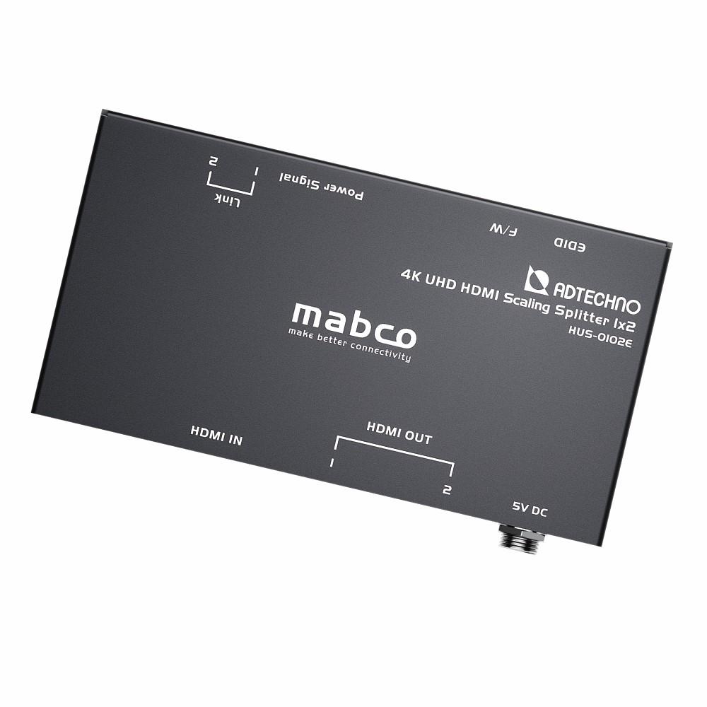 【新品/取寄品/代引不可】スケーリング機能搭載 業務用薄型HDMI 2.0a 2分配器 HUS-0102E