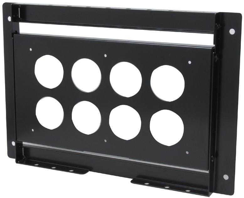 【新品/取寄品/代引不可】パブリックディスプレイ用壁掛け金具(横型) ST-WM10H