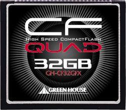 【新品/取寄品】UDMA対応ハイスピードコンパクトフラッシュ 433倍速 32GB GH-CF32GFX