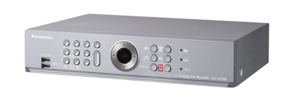 【新品/取寄品/代引不可】HDアナログディスクレコーダー(8ch対応 2TBX2搭載) WJ-HL308
