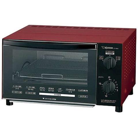 【新品/在庫あり】象印 オーブントースター こんがり倶楽部 ET-GB30-RZ マットレッド