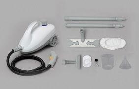 【新品/取寄品/代引不可】スチームクリーナー ホワイト STM-410E-W