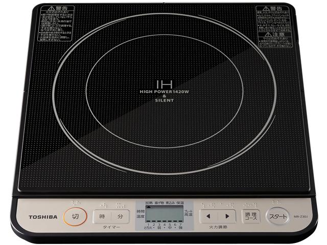 【新品/取寄品】東芝 IH調理器 MR-Z30J(K) ブラック