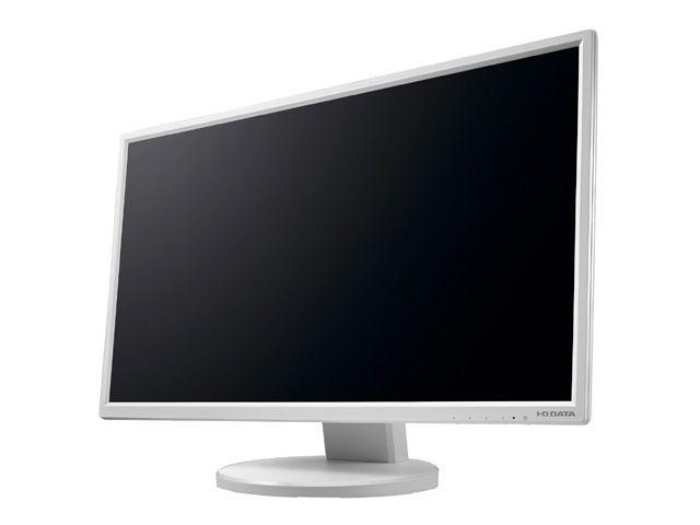 【新品/取寄品/代引不可】「5年保証」フリースタイルスタンド&広視野角ADSパネル採用23.8型ワイド液晶 ホワイト LCD-MF245EDW-F