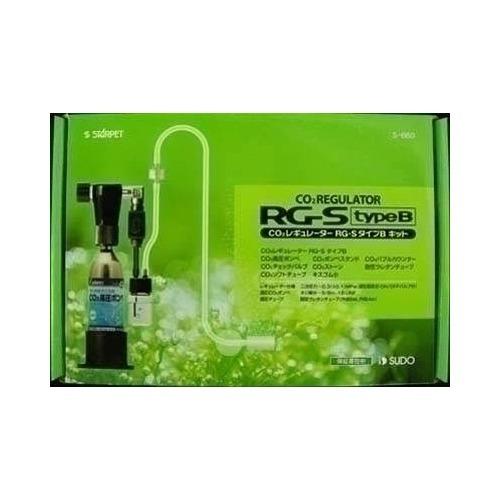 【通販限定/新品/取寄品/代引不可】CO2レギュレーター RG-S タイプBキット 1セット