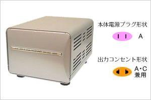【新品/取寄品/代引不可】海外国内用型変圧器220-240V/1000VA NTI-18