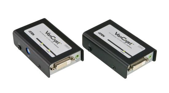 【新品/取寄品/代引不可】オーディオ対応DVIエクステンダー VE600A/ATEN
