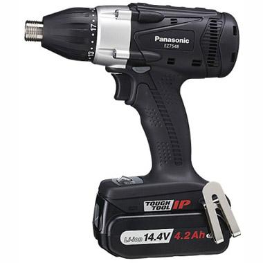 【新品/取寄品】パナソニック 電動工具 充電マルチインパクトドライバー EZ7548LS2S-B [黒]