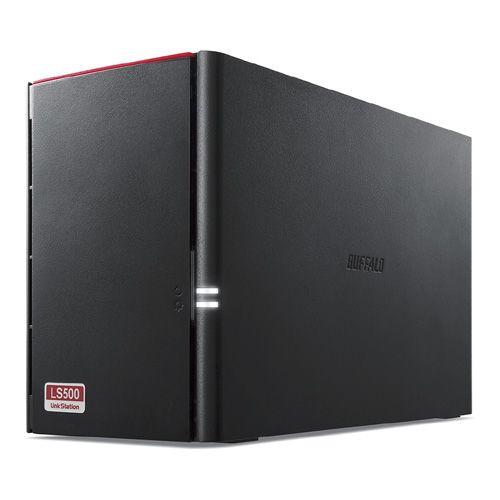 【新品/取寄品/代引不可】LinkStation for SOHO LS520DNBシリーズ NAS用HDD搭載 2ドライブNAS 3年保証 6TB LS520DN0602B