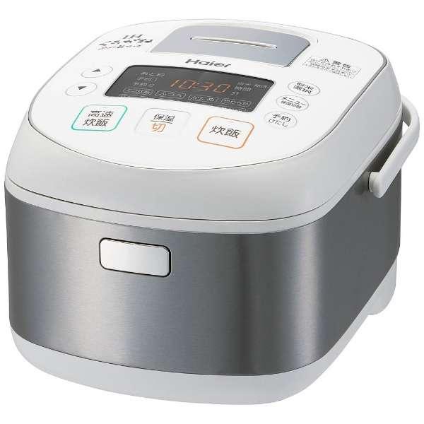 【新品/在庫あり】Haier ハイアール IHジャー炊飯器 5.5合炊き ホワイト JJ-H55A-W