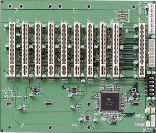 【新品/取寄品/代引不可】PCI対応 10スロットバックプレーン(PCIx10) BPC-1111