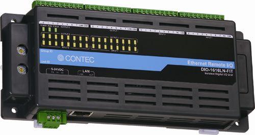 【新品/取寄品/代引不可】絶縁型デジタル入力ユニット Ethernet リモートI/O (F&eIT N シリーズ) DI-32LN-FIT