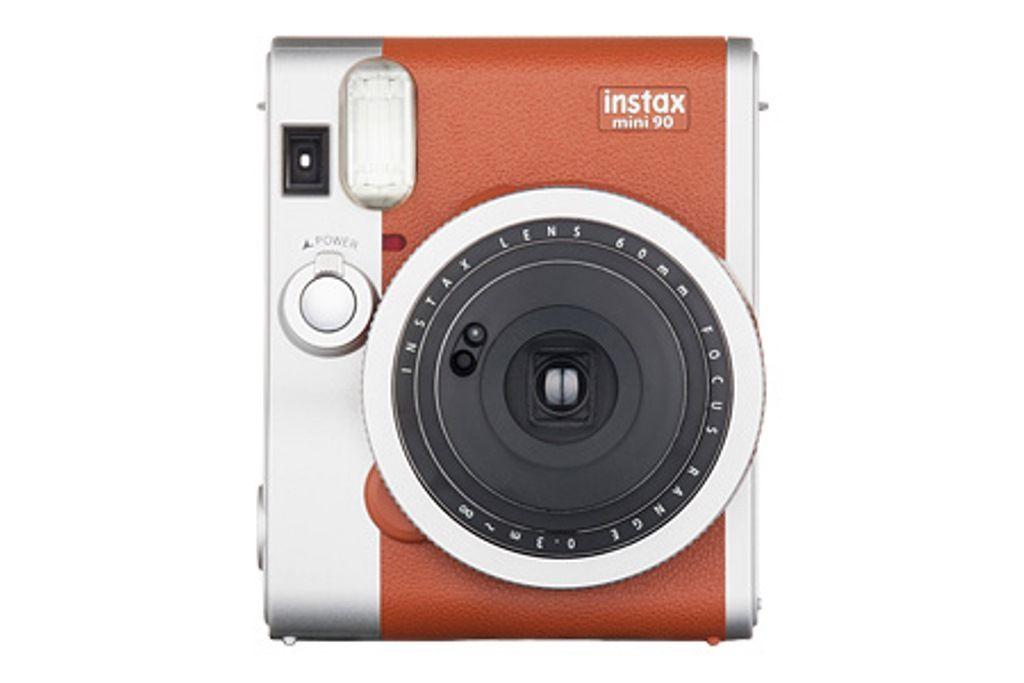 【新品/取寄品/代引不可】インスタントカメラ チェキ instax mini 90 ネオクラシック ブラウン