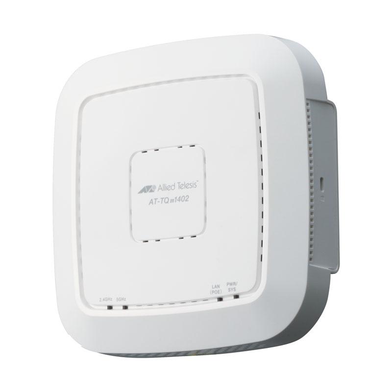 【新品/取寄品/代引不可】AT-TQm1402[IEEE802.11a/b/g/n/ac対応 無線LANアクセスポイント、10/100/1000BASE-T(PoE-IN)x1] 4054R