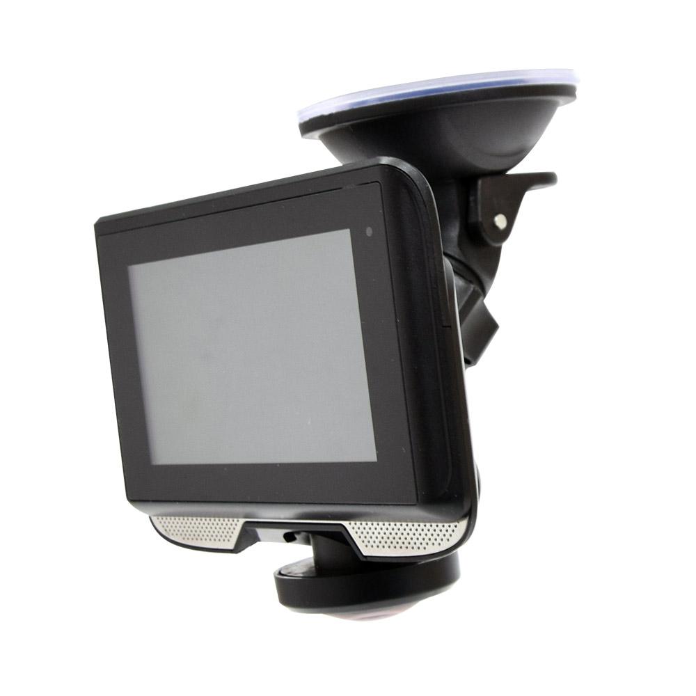 【新品/取寄品/代引不可】3インチ360度ドライブレコーダー&リアカメラ DR360D3R