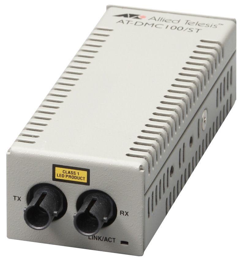 【新品/取寄品/代引不可】AT-DMC100/ST-Z5 [100BASE-TXx1、100BASE-FX(ST)x1(デリバリースタンダード保守5年付)] 3573RZ5