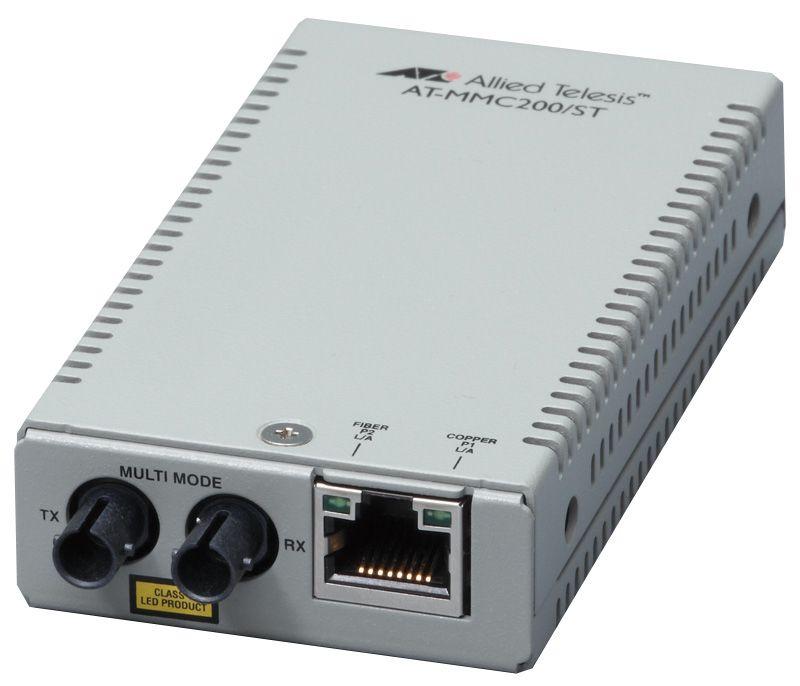 【新品/取寄品/代引不可】AT-MMC200/ST-Z7 [10/100BASE-TXx1、100BASE-FX(ST)x1(デリバリースタンダード保守7年付)] 3576RZ7