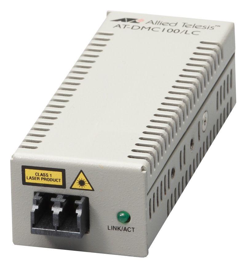 【新品/取寄品/代引不可】AT-DMC100/LC-Z1 [100BASE-TXx1、100BASE-FX(LC)x1(デリバリースタンダード保守1年付)] 3574RZ1