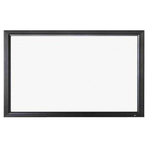 [送料はご注文後にご案内] 【新品/取寄品/代引不可】120インチ 張込 スクリーン(ホワイトマット)PA-120H-01-WG(ブラック塗装枠)