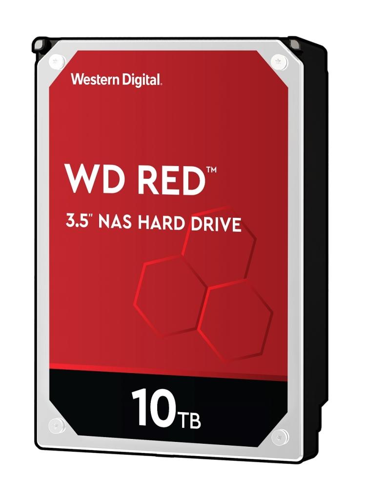 【新品/取寄品/代引不可】WD Red 3.5インチ内蔵HDD 10TB SATA6Gb/s 5400rpm 512MB WD101EFAX