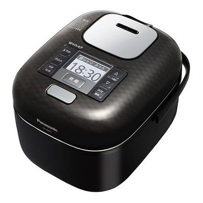 【新品/在庫あり】パナソニック 可変圧力IHジャー炊飯器 Jコンセプト Wおどり炊き SR-JW057-KK [シャインブラック] [3合炊き]