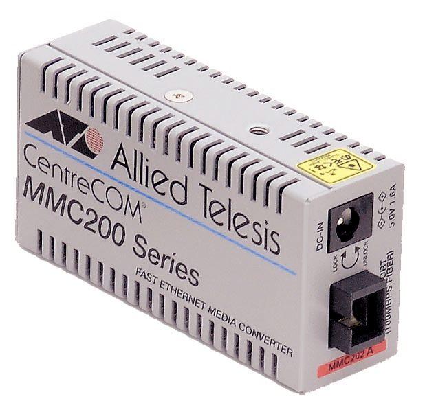 【新品/取寄品/代引不可】CentreCOM MMC202A-Z7 [100BASE-TXx1、100BASE-FX SMF1心(SC)x1(デリバリースタンダード保守7年付)] 0018RZ7
