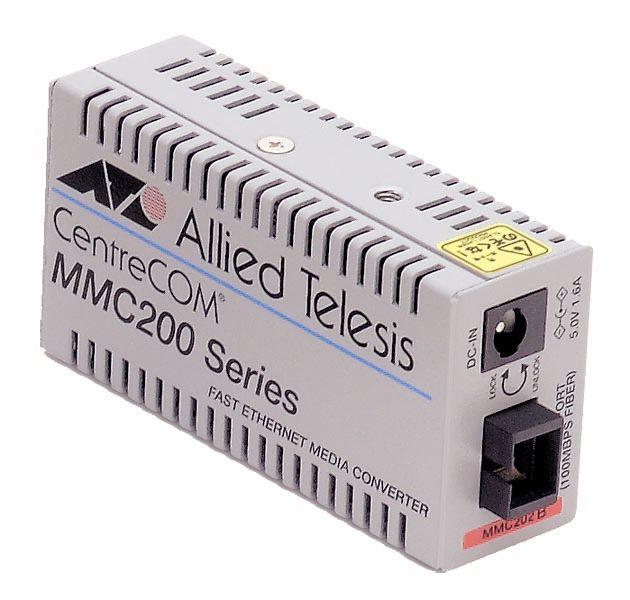【新品/取寄品/代引不可】CentreCOM MMC202B-Z7 [100BASE-TXx1、100BASE-FX SMF1心(SC)x1(デリバリースタンダード保守7年付)] 0019RZ7