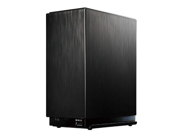 【新品/取寄品/代引不可】デュアルコアCPU搭載 2ドライブ高速ビジネスNAS 8TB HDL2-AA8W