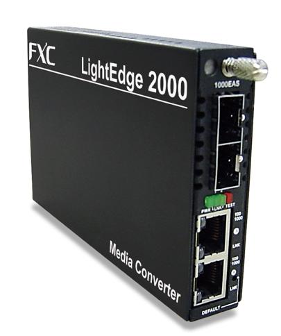 【新品/取寄品/代引不可】10/100/1000BASE-T to 1000BASE-X(SFP スロット)メディアコンバータ LE2871-00