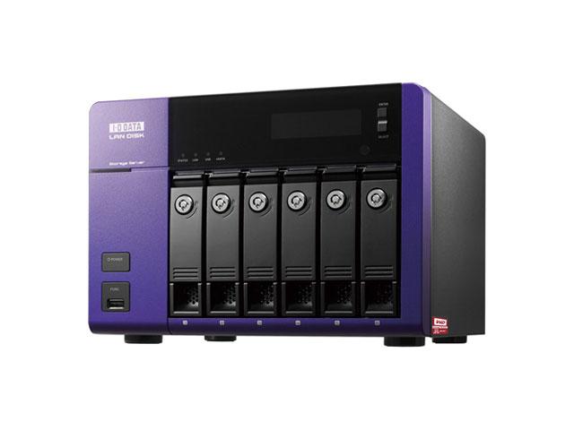【新品/取寄品/代引不可】WD Red搭載 Windows Storage Server 2012 R2 Standard Edition 6ドライブNAS 6TB HDL-Z6WL6C2