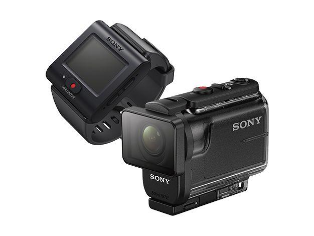 【新品/取寄品/代引不可】デジタルHDビデオカメラレコーダー リモコンキット付き HDR-AS50R