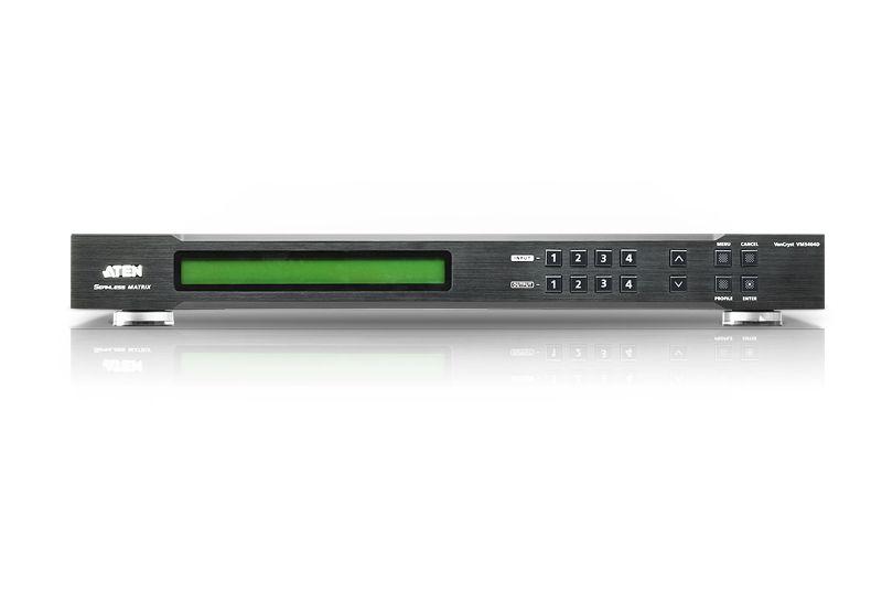 【新品/取寄品/代引不可】4×4ビデオウォール対応DVIシームレススイッチャー VM5404D/ATEN