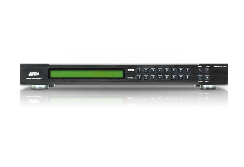 【新品/取寄品/代引不可】8×8ビデオウォール対応DVIシームレススイッチャー VM5808D/ATEN
