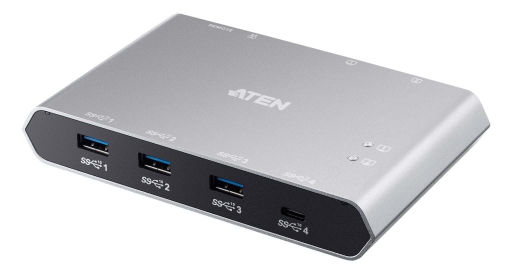 【新品/取寄品/代引不可】USB-C 2ポートUSB 3.1 Gen 2デバイス共有器(電源パススルー対応) US3342/ATEN