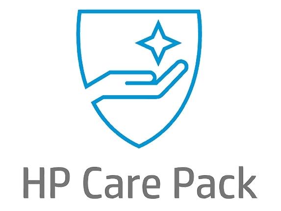【新品/取寄品/代引不可】HP Care Pack ポストワランティ ハードウェアオンサイト 休日修理付 翌日対応 1年 POS A用 U7ZR4PE